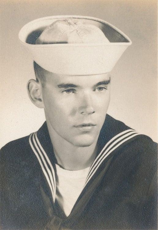 Me in my Coast Guard Uniform, late 1960's.