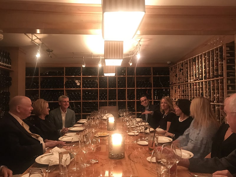 My recent 77th birthday dinner was also held at Commander's Palace, in their Wine Room. Hoping for many more such events—and birthdays!